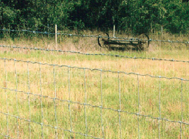 Low carbon fencing