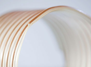 Flexible duct wire