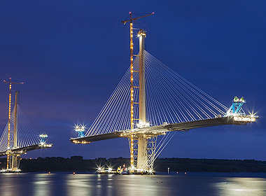 Steel strands for cable stayed bridges