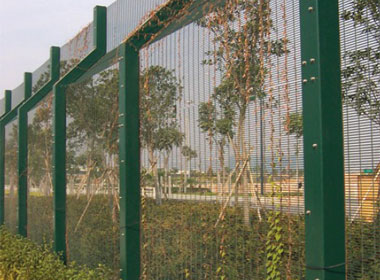 Durafence coated steel wire fencing solutions for high security