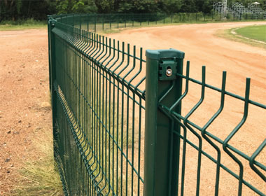 Durafence coated steel wire fencing solutions for public and industrial sites