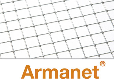 Armanet® reinforcing plaster and render carrier