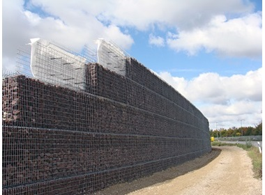 Welded gabion wire