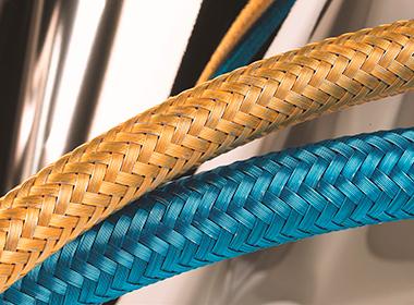 Cable and hose braiding wire