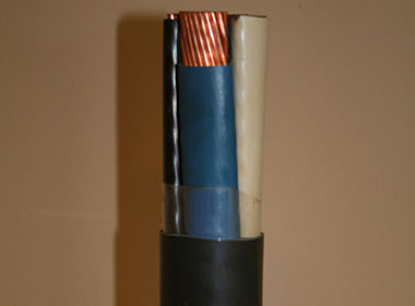 Land cable armoring wire