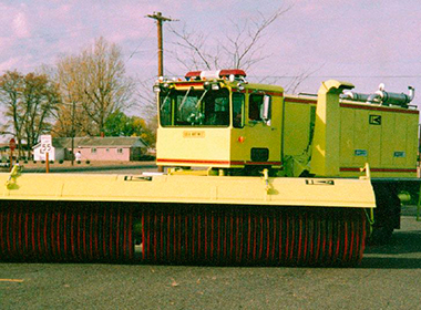 Bekaert brush wire airport sweepers