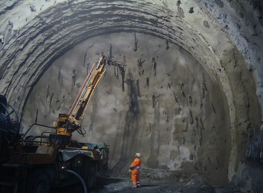 Bekaert fiber reinforcement solutions for concrete underground applications - tunnels and mines