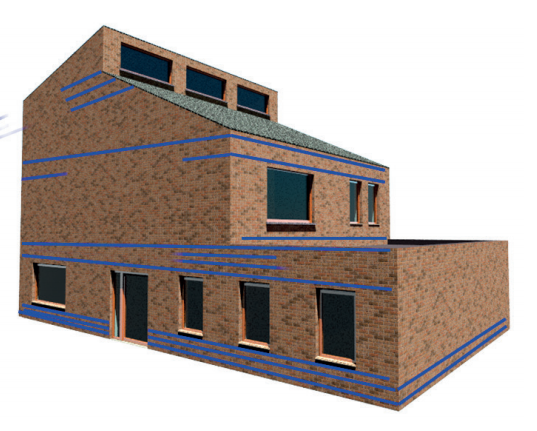 Masonry reinforcement - stress concentrations 2
