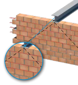 Reinforcing point loads in masonry
