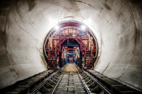 Picture of Lee Tunnel, London, UK (Copyright: Inner lining Lee Tunnel)