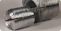 Galvanized wire hot dipped