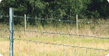 Low carbon fence